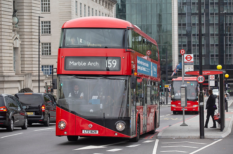 LT629 LTZ1629, Westminster Bridge 20/9/2018