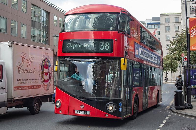 LT198 LTZ1198, Holborn 21/9/2018
