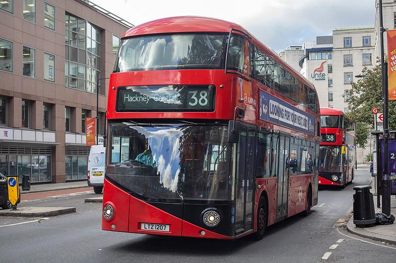 LT207 LTZ1207, Holborn 21/9/2018