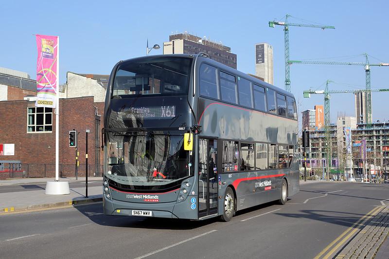 6857 SN67WWV, Birmingham 24/2/2018