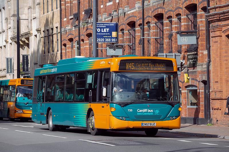 735 CN57BJZ, Cardiff 24/9/2018