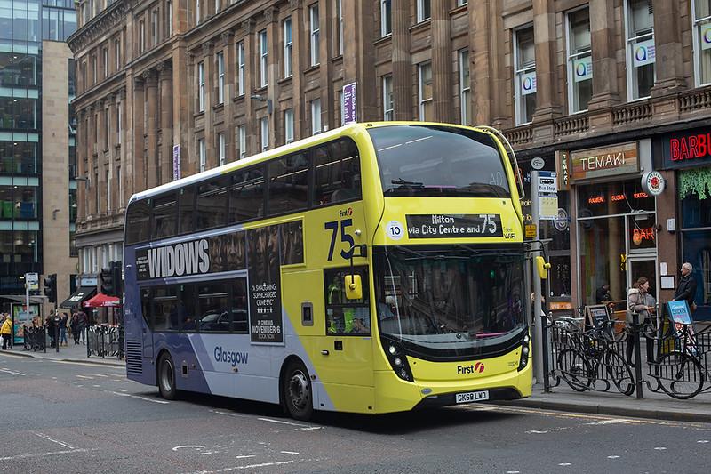 33202 SK68LWO, Glasgow 24/10/2018
