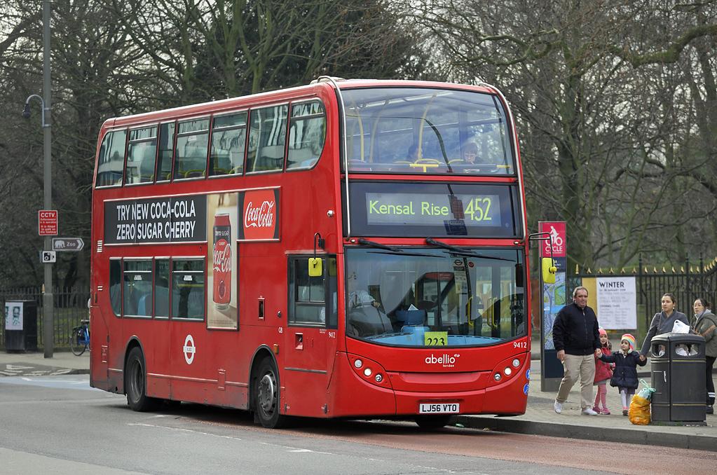 9412 LJ56VTO, Battersea Park 26/1/2018