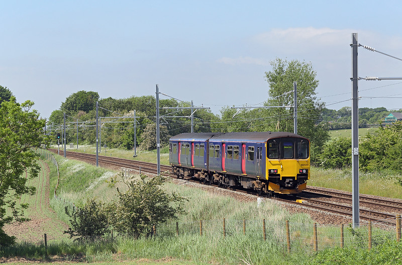 150121 Treales 29/5/2018<br /> 2N56 1134 Manchester Oxford Road-Blackpool North