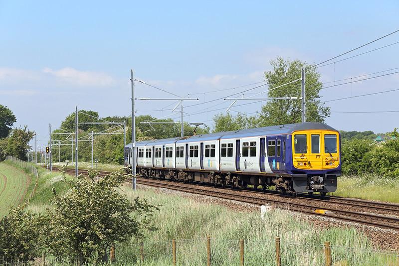 319448 Treales 29/5/2018<br /> 2P80 1132 Blackpool North-Preston