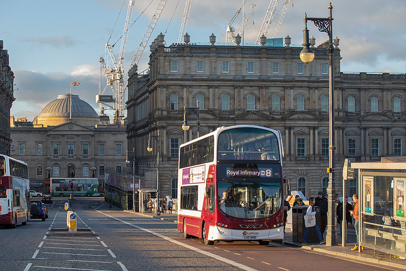 1017 LXZ5401, Edinburgh 30/9/2018