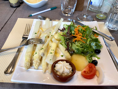 Ribeauville - We thought this was lunch but it was just an appetizer