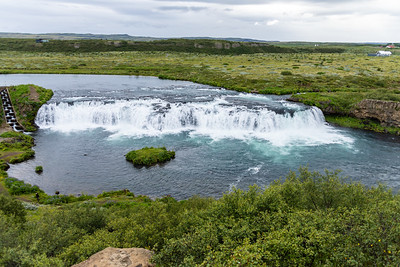 Faxafoss, our first waterfall