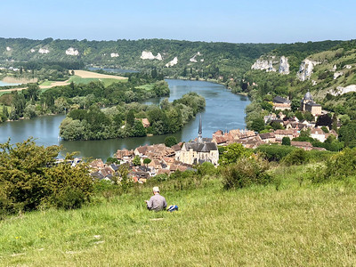 View from Le Chateau Gaillard, Les Andelys