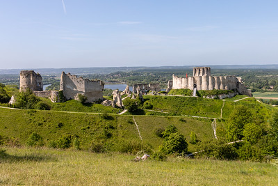Le Chateau Gaillard, Les Andelys built by Richard the Lionheart