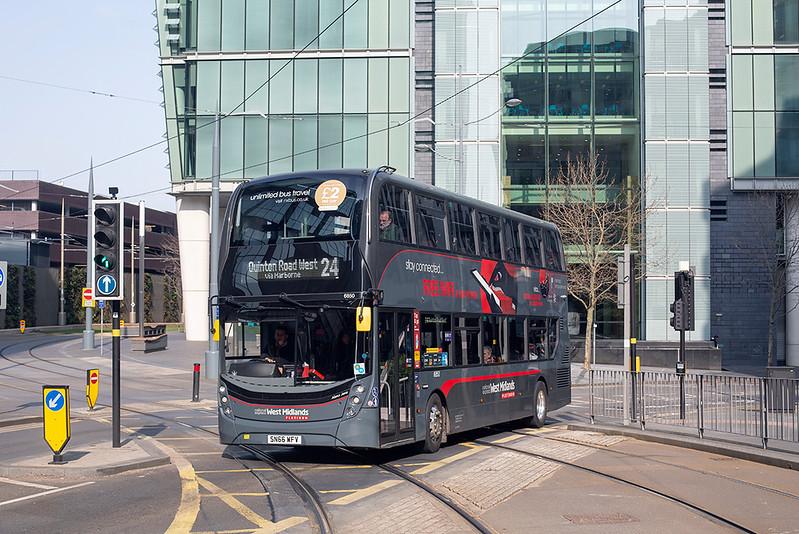 6850 SN66WFV, Birmingham 1/4/2019