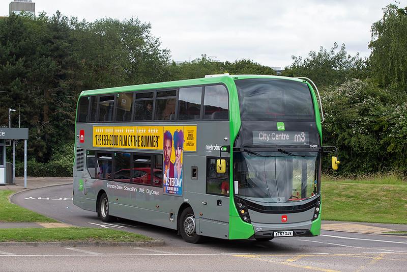 36802 YT67XJV, UWE Bristol 1/7/2019