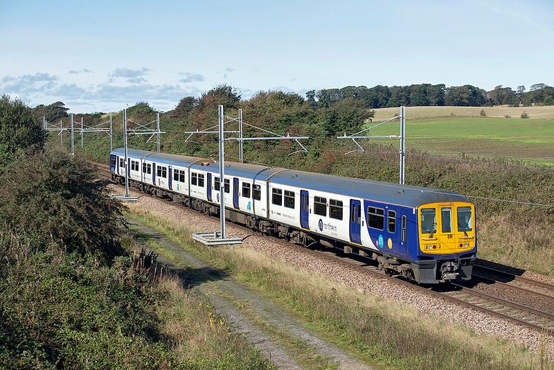 319384 Kirkham Tip 2/10/2019<br /> 1N56 1039 Manchester Airport-Blackpool North