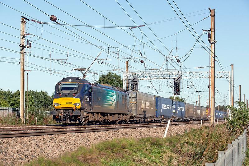 88008 Farington 2/10/2019<br /> 4M27 0548 Mossend Yard-Daventry