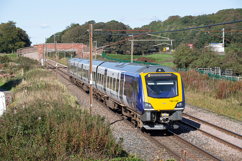 195122 Woodacre 2/10/2019<br /> 1C54 1229 Manchester Airport-Barrow in Furness