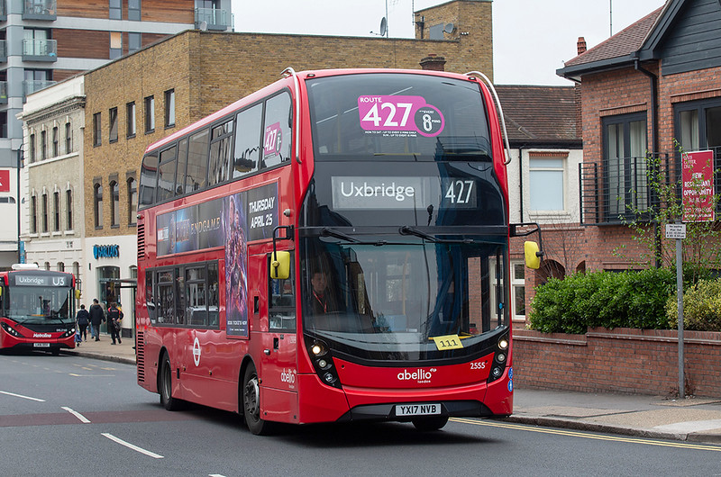 2555 YX17NVB, Uxbridge 3/5/2019