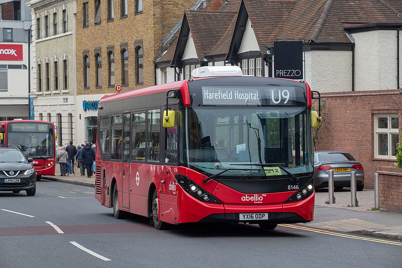 8146 YX16ODP, Uxbridge 3/5/2019