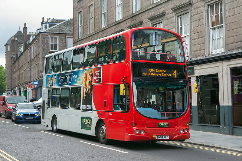 4682 BX54XPP, Dundee 3/6/2019