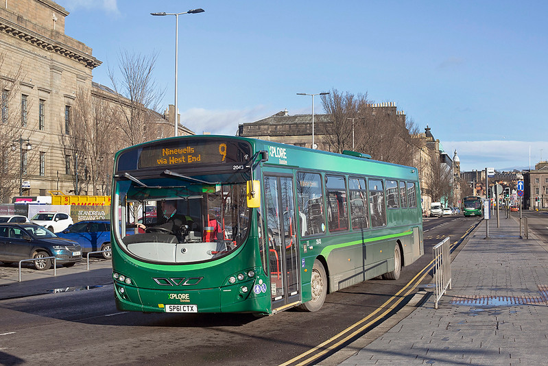 2043 SP61CTX, Dundee 4/2/2019