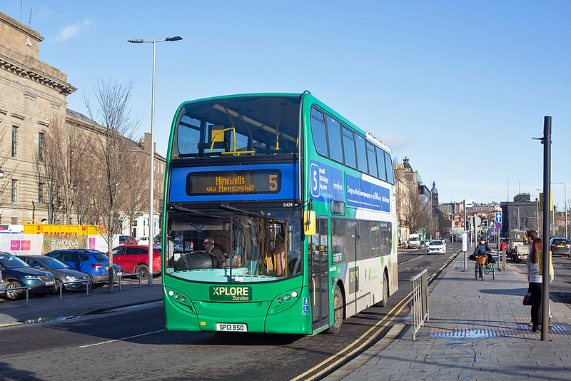 5424 SP13BSO, Dundee 4/2/2019
