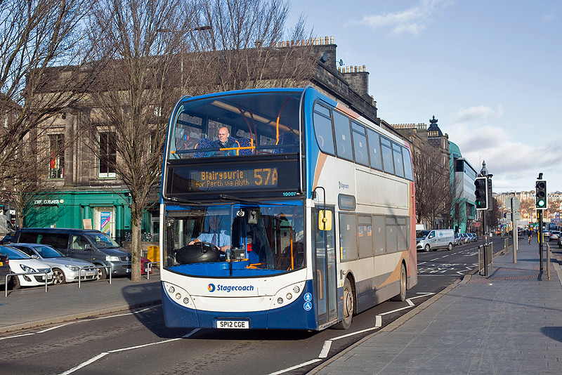 10007 SP12CGE, Dundee 4/2/2019