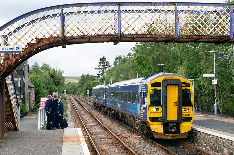 158708 Lairg 4/6/2019<br /> 2H61 0700 Inverness-Wick