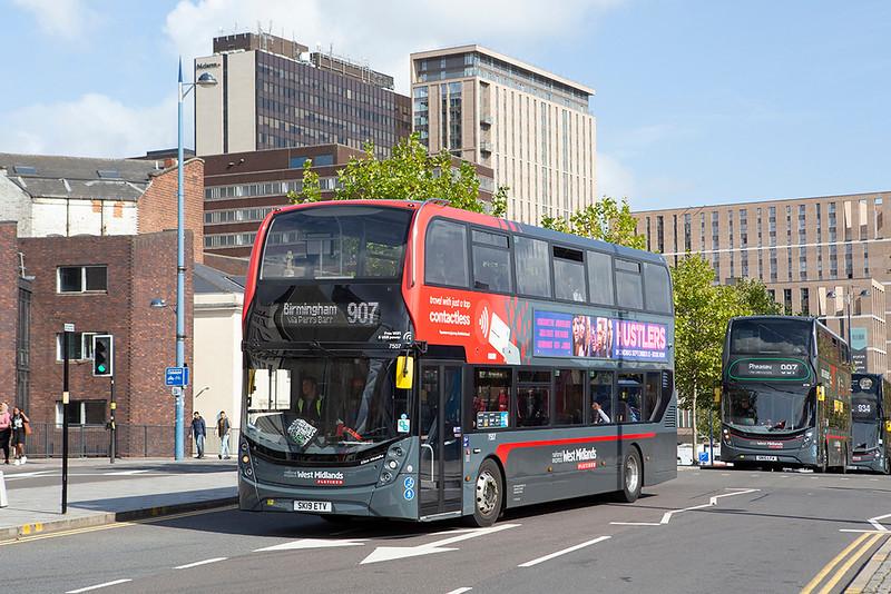 7507 SK19ETV, Birmingham 5/9/2019