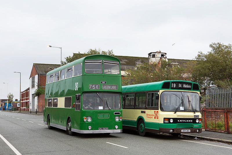 1111 UKA562H and 6036 UEM36V, Birkenhead 6/10/2019
