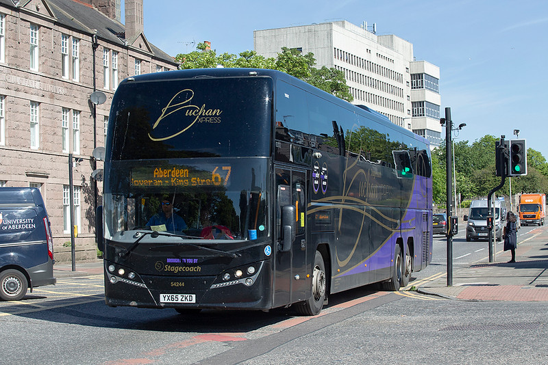 54244 YX65ZKD, Aberdeen 7/6/2019