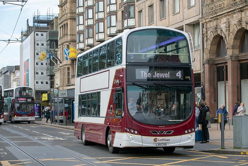 1148 LX11CVS, Edinburgh 9/10/2019