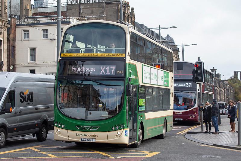 1045 LXZ5433, Edinburgh 9/10/2019