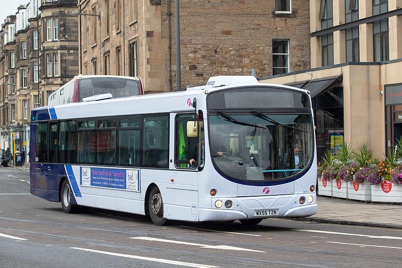 66951 WX55TZN, Edinburgh 10/9/2019