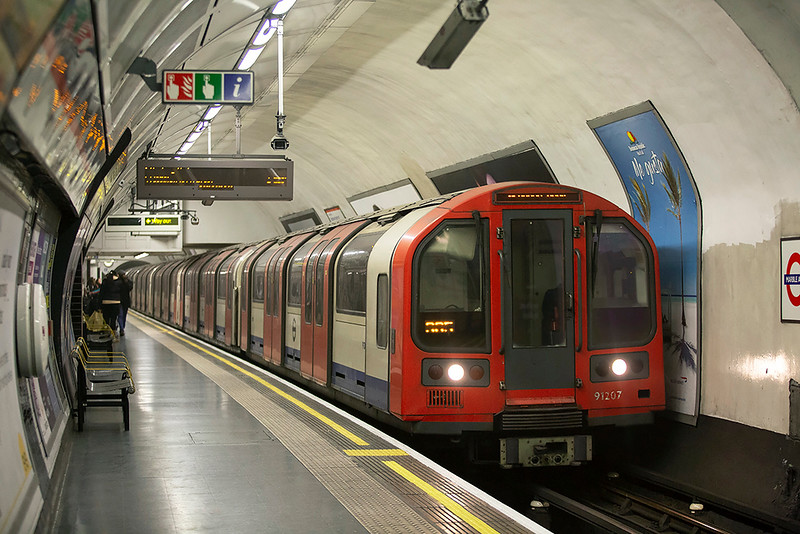 Central Line 91207, Marble Arch 11/1/2019