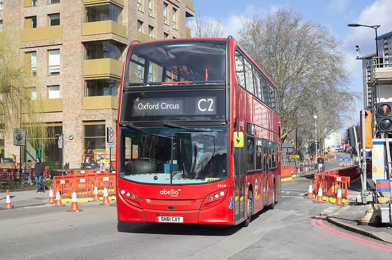 2419 SN61CXY, Hampstead Road 11/3/2019