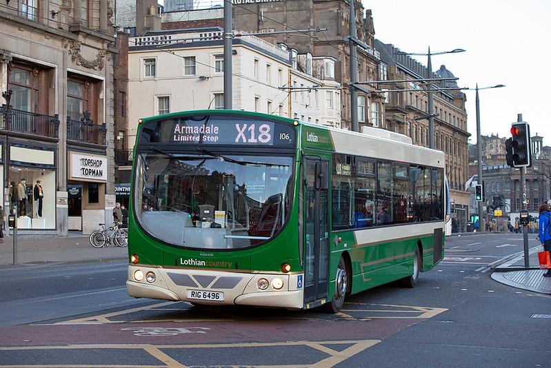 106 RIG6496, Edinburgh 13/1/2019