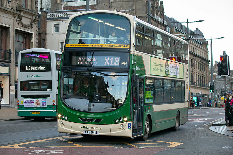 1030 LXZ5415, Edinburgh 13/1/2019