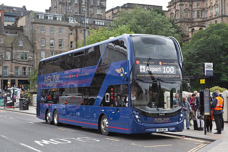 1135 SB19GMX, Edinburgh 14/8/2019