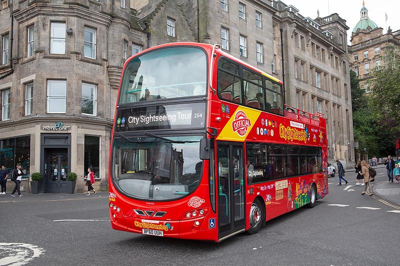 254 BF60UUH, Edinburgh 14/8/2019