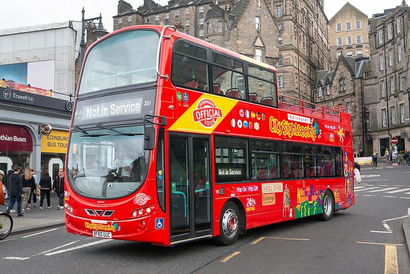 251 BF60UUC, Edinburgh 14/8/2019