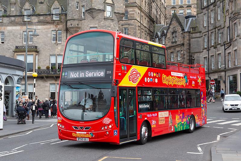 255 BF60UUJ, Edinburgh 14/8/2019