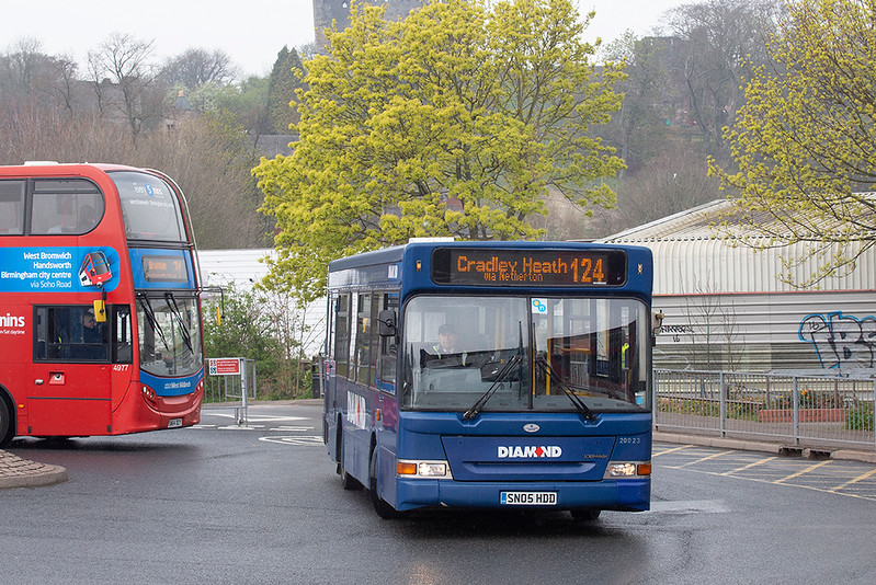 20023 SN05HDD, Dudley 16/4/2019