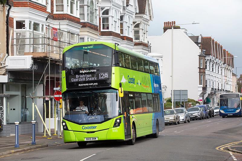 935 BX15ONM, Eastbourne 18/10/2019