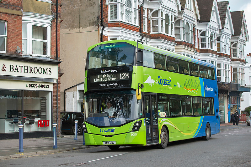 930 BX15ONG, Eastbourne 18/10/2019