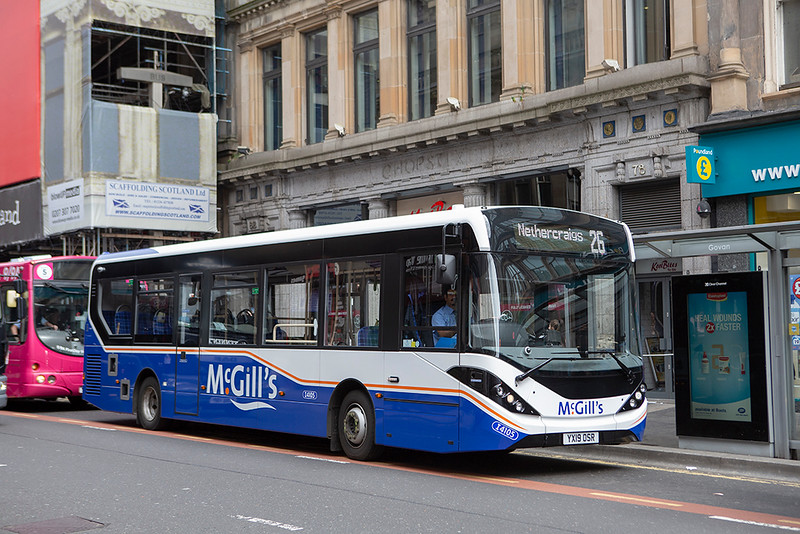 4105 YX19OSR, Glasgow 20/5/2019