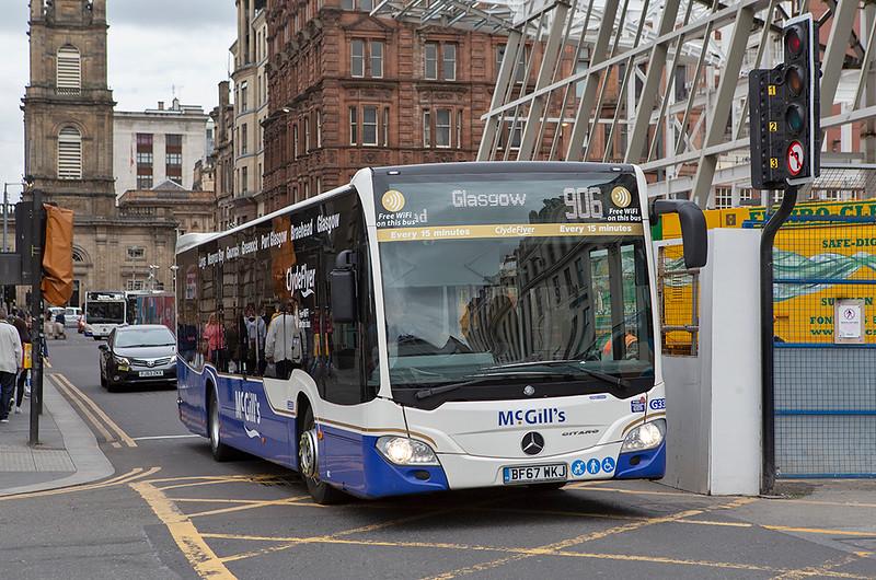 3350 BF67WKJ, Glasgow 20/5/2019