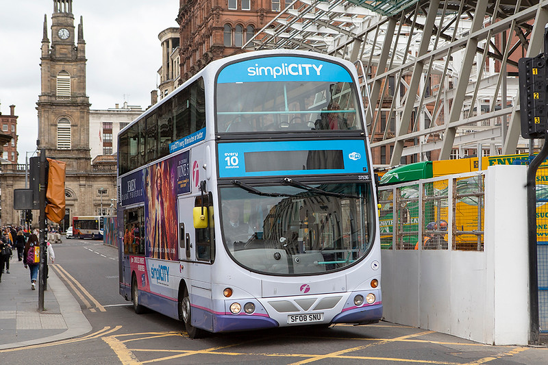 37536 SF08SNU, Glasgow 20/5/2019