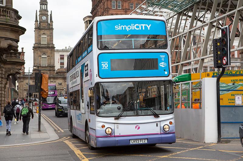 33353 LK53FCZ, Glasgow 20/5/2019