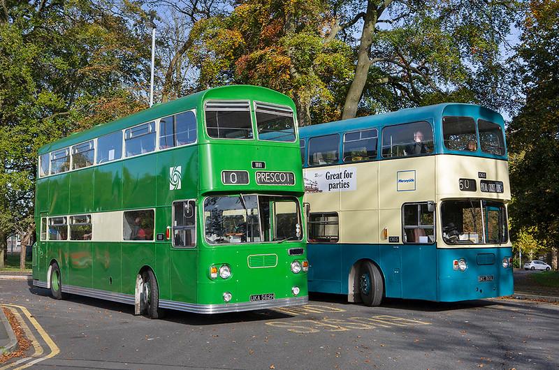 1111 UKA562H and 1365 DKC365L, Prestwich 20/10/2019