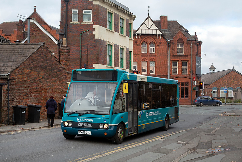 660 CX57CYO, Crewe 21/10/2019