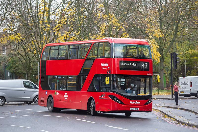 BDE2641 LJ19CVR, Highbury & Islington 22/11/2019